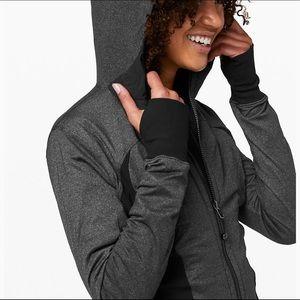 ** Lululemon ** black and grey dance studio jacket